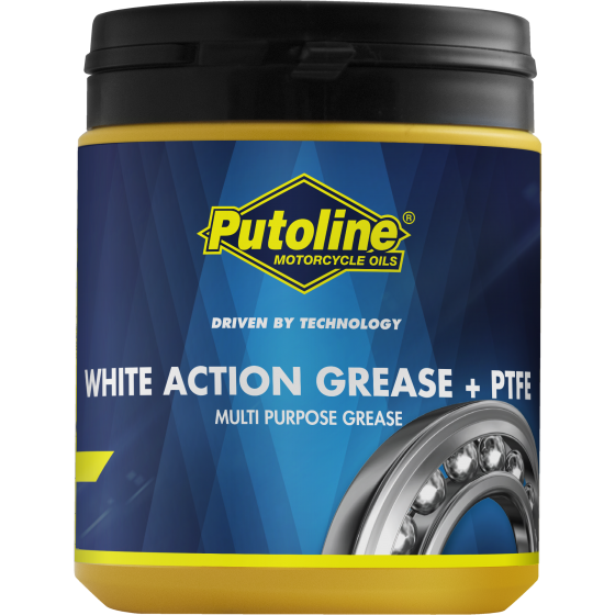 WHITE ACTION GREASE + PTFE 600 G